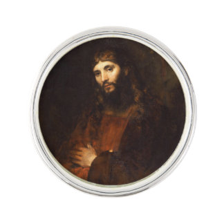 Jesus with His Arms Crossed Lapel Pin