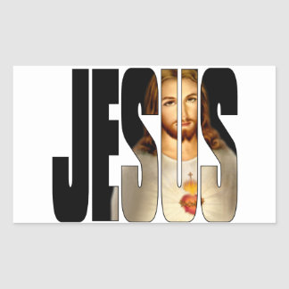 Jesus with His image in His Name