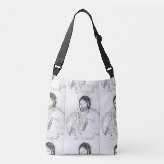 Jesus With Lamb Crossbody Bag