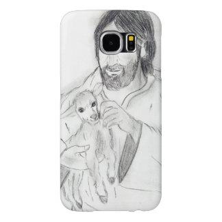 Jesus With Lamb Samsung Galaxy S6 Cases