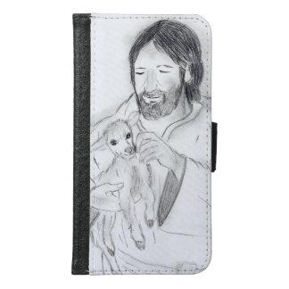 Jesus With Lamb Samsung Galaxy S6 Wallet Case
