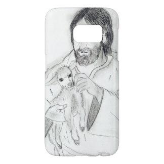 Jesus With Lamb Samsung Galaxy S7 Case