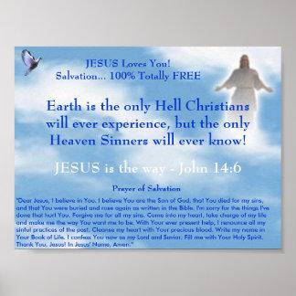 JESUS Witnessing Poster
