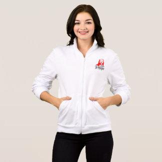 Jesus Women's Fleece Zip Jog Jacket