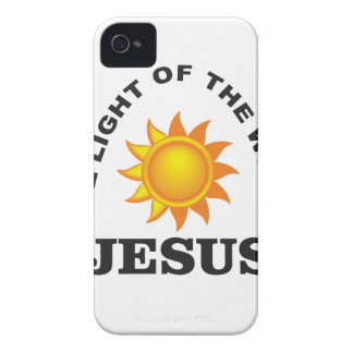 jesus world light iPhone 4 covers