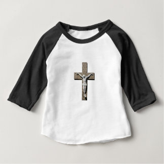 Jesuschrist on a Cross Sculpture Baby T-Shirt