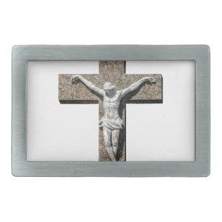 Jesuschrist on a Cross Sculpture Belt Buckle
