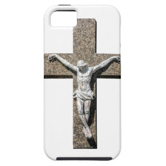 Jesuschrist on a Cross Sculpture Case For The iPhone 5