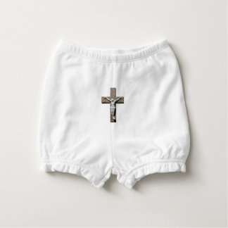 Jesuschrist on a Cross Sculpture Diaper Cover