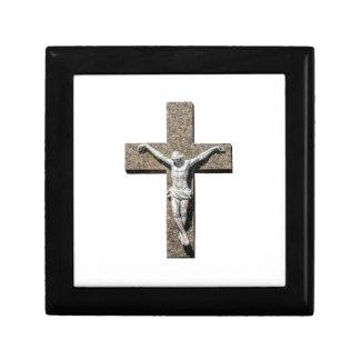 Jesuschrist on a Cross Sculpture Gift Box