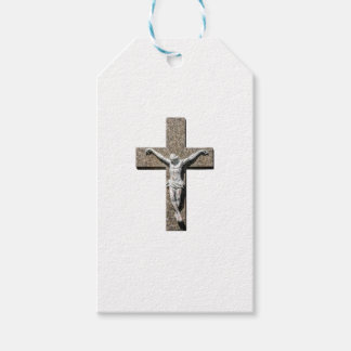 Jesuschrist on a Cross Sculpture Gift Tags