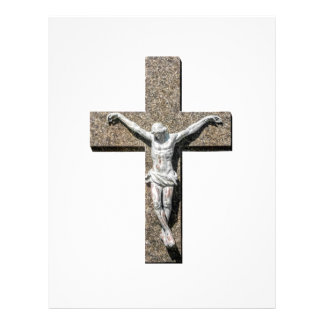 Jesuschrist on a Cross Sculpture Letterhead