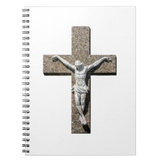 Jesuschrist on a Cross Sculpture Notebooks