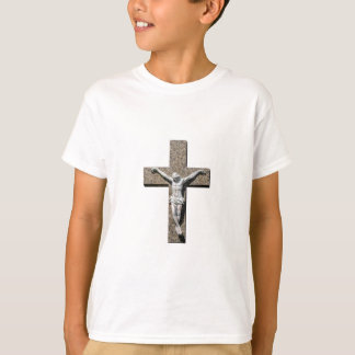 Jesuschrist on a Cross Sculpture T-Shirt