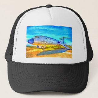 Jet Aircraft Pop art Trucker Hat