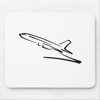 Jet Airliner Mouse Pad
