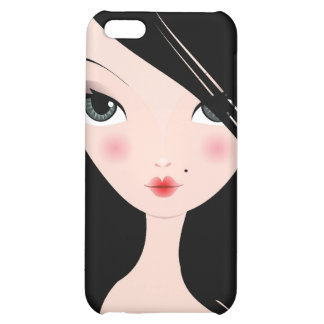 Jet Black Babe Speck Case iPhone 5C Case