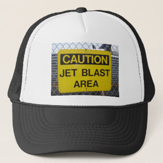 Jet Blast Area Trucker Hat