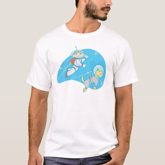Jet Boy and Dog T-Shirt