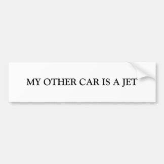 JET Bumper Sticker
