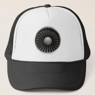 Jet Engine Turbine Fan Trucker Hat