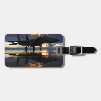 Jet Fighter Aircraft Pilot Wings Destiny Luggage Tag
