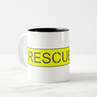 Jet Fighter Cockpit sticker Two-Tone Coffee Mug