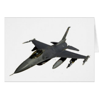 JET FIGHTER GREETING CARD