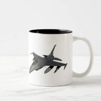 JET FIGHTER Two-Tone COFFEE MUG