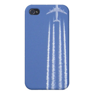 Jet in the sky iPhone 4 case