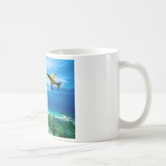 Jet Knife edge maneuver Coffee Mug