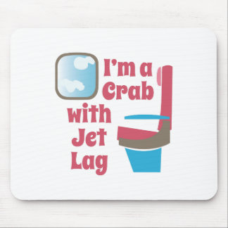 Jet Lag Mouse Pad