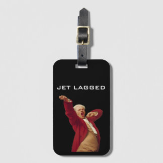 Jet Lagged Luggage Tag