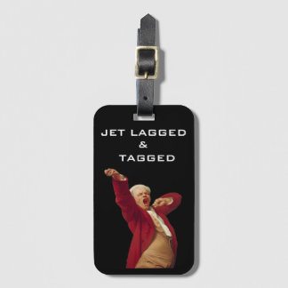 Jet Lagged & Tagged Luggage Tag