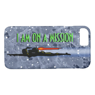 JET PACK GIRL MISSION by Jetpackcorps iPhone 8/7 Case