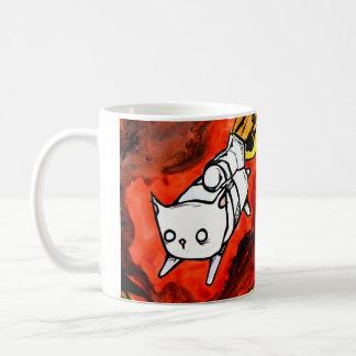 jet pack peapod cat coffee mug