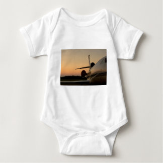 Jet Plane Wing Fly Airport Baby Bodysuit