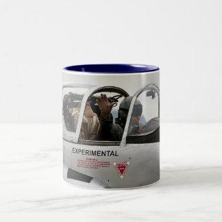 Jet Provost Two-Tone Coffee Mug