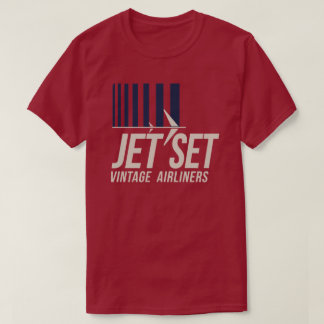 Jet Set Vintage Airliners T-Shirt