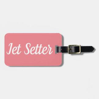 Jet Setter Luggage Tag