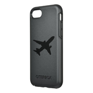 Jet Silhouette OtterBox Symmetry iPhone 8/7 Case