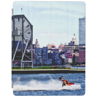 Jet Skiing by Colgate Clock iPad Cover