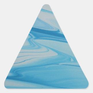 Jet Stream Triangle Sticker