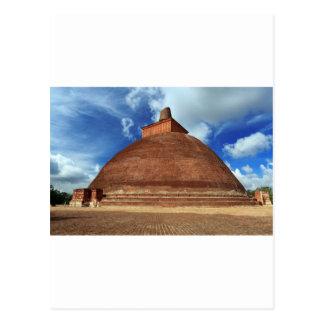 Jetavana Buddhist stupa in Anuradhapura Postcard