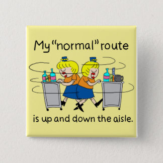 Jetlagged Comic | My Normal Route Square Button