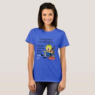 Jetlagged Comic | Your Safety Women's T-Shirt