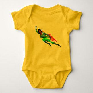 JETPACK ROKET GIRL by Jetpackcorps Baby Bodysuit
