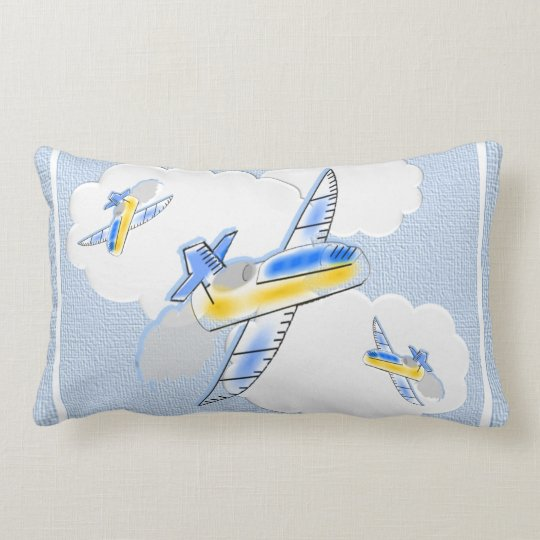 Jetplanes in the Clouds Pillows