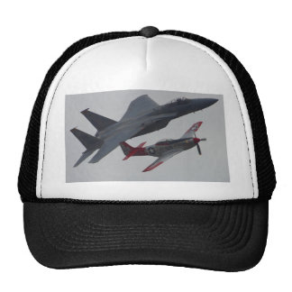 Jets Planes Pilots Cockpits Propellers Trucker Hat