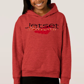 Jetset Licorice > Girls Hoodie - Licorice